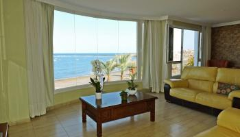 Fuerteventura | Beachfront property for sale in Puerto Lajas - Living room