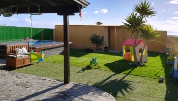 House with sea views for sale in Caleta de Fuste, Fuerteventura - Garden