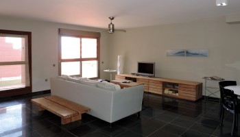Beach apartment for sale in El Cotillo, Fuerteventura - Living room