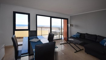 Sea view triplex in Caleta de Fuste, Fuerteventura - Lounge