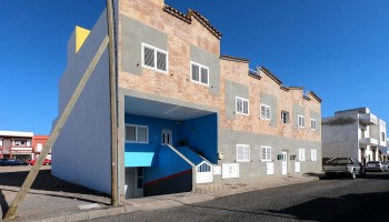 Terraced duplex for sale in El Matorral, Fuerteventura - Facade