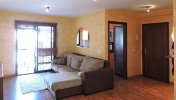 Flat with penthouse for sale in Puerto Lajas, Fuerteventura - Living room