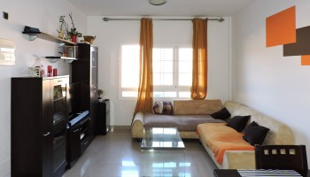 Two bedroom flat in Puerto del Rosario, Fuerteventura - Living room