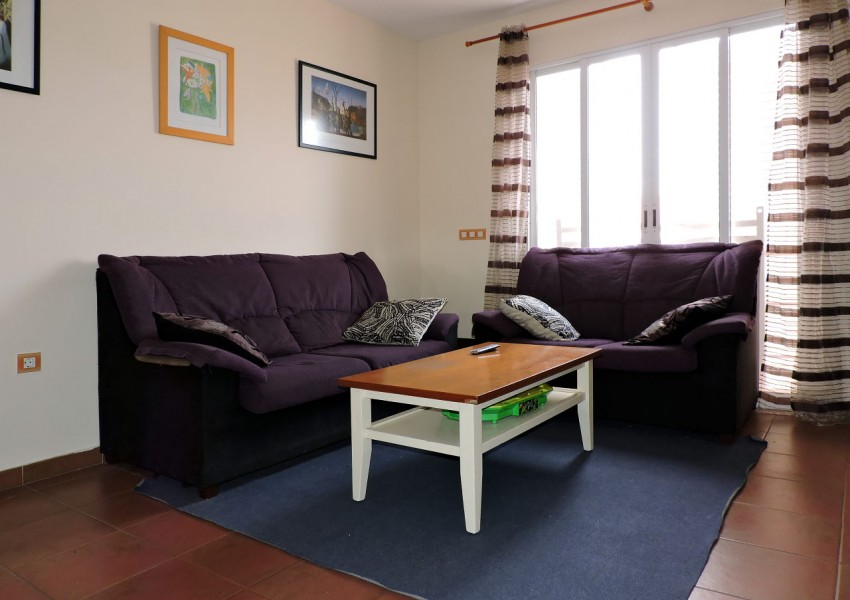 Terraced house for sale in Playa Blanca, Fuerteventura - Living room