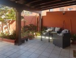 Duplex for sale in Fuerteventura - Terrace with pergola