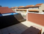 Duplex in Caleta de Fuste - Terrace with pool