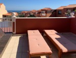 Duplex in Altavista Complex in Caleta de Fuste - Sea views from the terrace