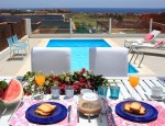 Luxury villa with sea views in Caleta de Fuste - Swimming pool