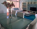 Luxury villa with sea views in Caleta de Fuste - Living room