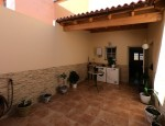 Duplex for sale in Fuerteventura - Patio with pergola
