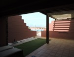 Beach apartment for sale in El Cotillo - Terrace at the entrance