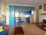 Furnished apartment in El Cotillo - Living room
