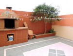 Terraced house in Playa Blanca - Patio with barbecue