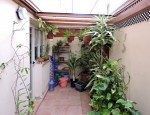 Two-storey house in Fuerteventura - Back patio