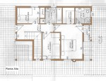 Detached house in Tetir - Upper floor plan