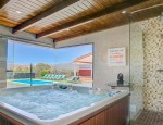 Jacuzzi - Villa with pool and garden in Tetir Fuerteventura